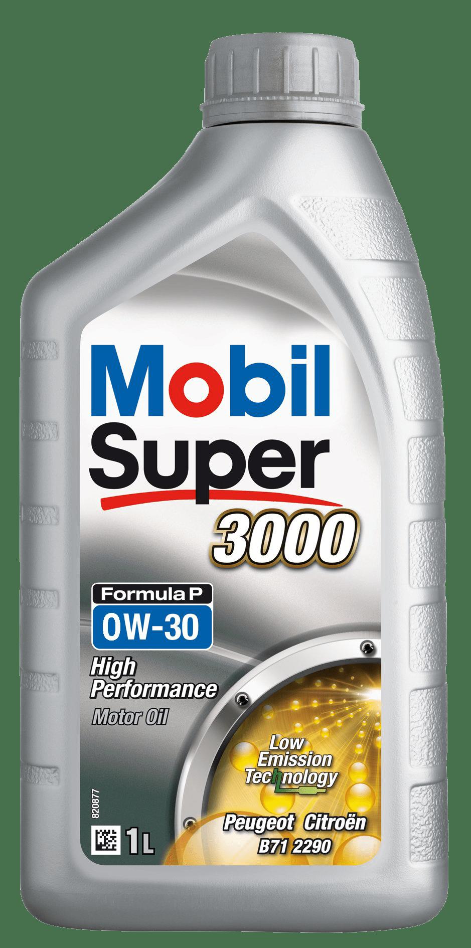Mobil Super 3000 Formula P 0W30 1L 757345-1