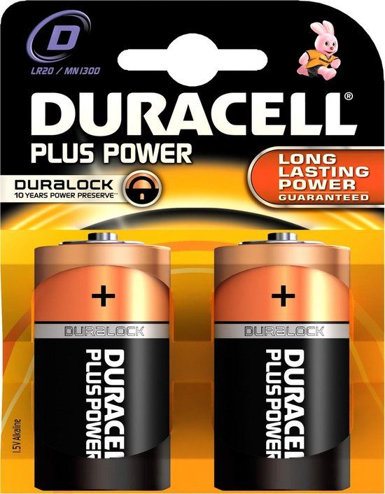 Agialube Duracell Plus - 1.5V 2 pack 5000394019171