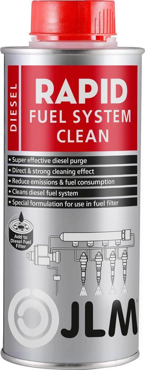 JLM Rapid Diesel Fuel System Clean 500ML J02330