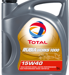TOTAL RUBIA WORKS 1000 15W40 5L