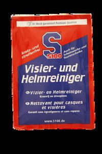 S100 Helm en Vizier Reiniger (1x droog + 1x nat doekje)