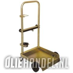 DCQ Drumdolly met beugel 20-60kg drum 4 wiels