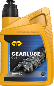 Kroon Oil Gearlube GL-5 80W90 1L