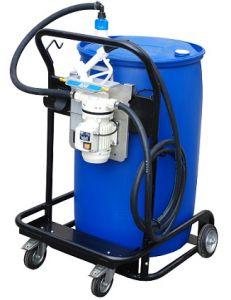 AdBlue unit verrijdbaar tbv.210ltr vaten+pompset Piusi Basic