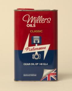 Millers Classic Gear Oil EP 140 GL4 1L
