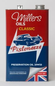 Millers Classic Preservation Oil 20W50 5L