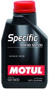 Motul Specific 504.00 507.00 5W30 12 x 1L