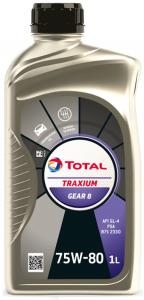 TOTAL TRANSMISSION GEAR 8 75W-80 2L