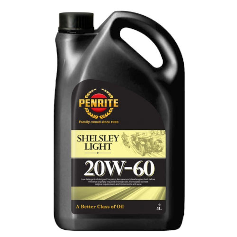 Penrite Shelsley light 20W60 5L PENS305X-5