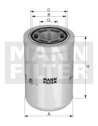 MANN WH1262 WH1262-st