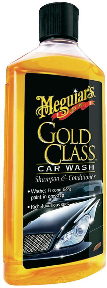 Meguiar's Gold Class Car Wash Shampoo & Conditioner 473ml G7116EU-st