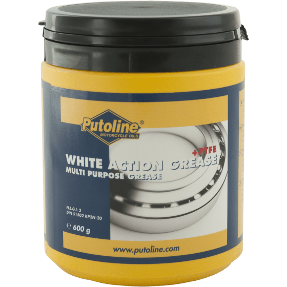 Putoline White Action Grease + PTFE 600GR 73611-st