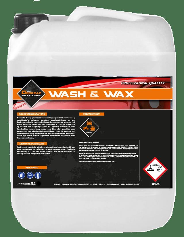 Degreaz Wash & Wax 5L 10326-5