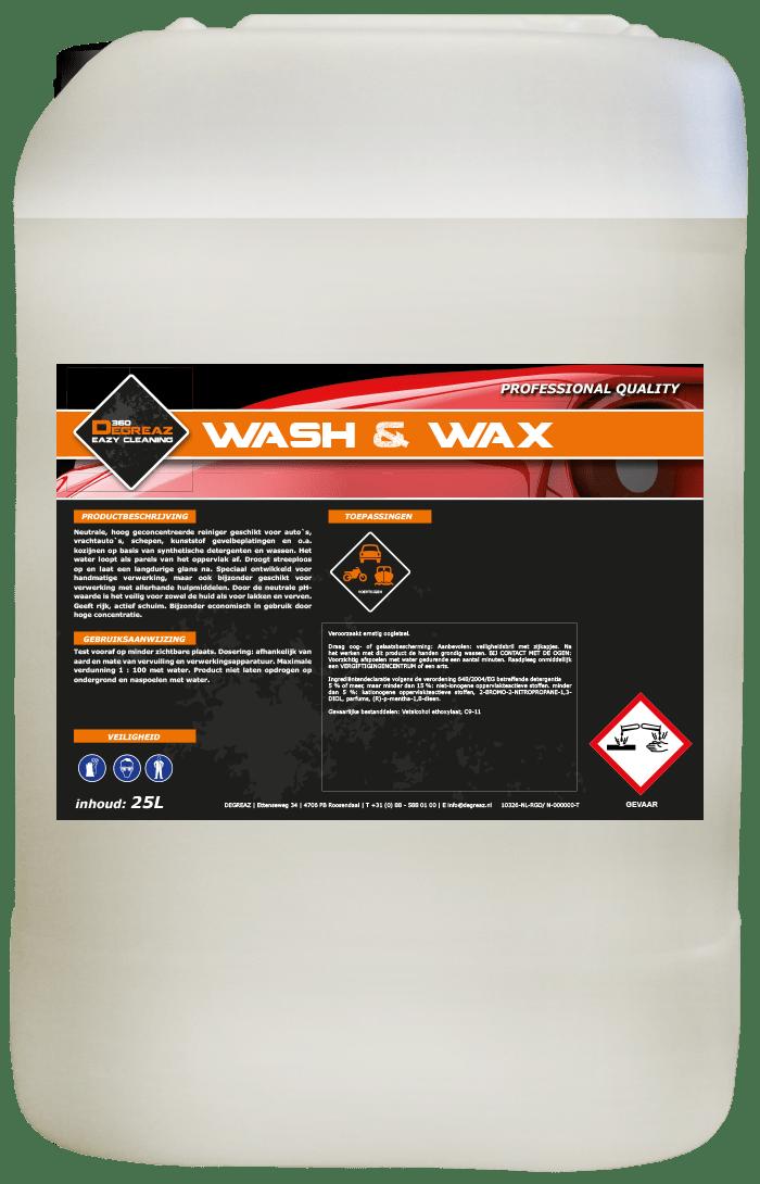 Degreaz Wash & Wax 25L 10326-25