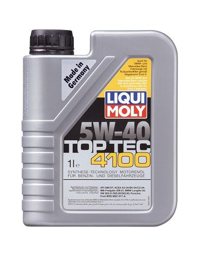 LiQui Moly Top Tec 4100 5W40 1L LM9510