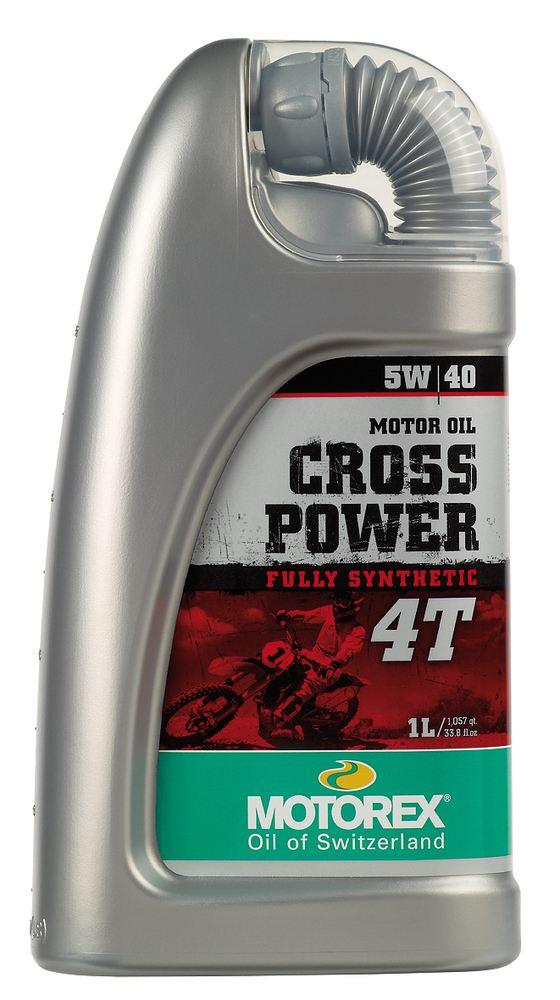 Motorex Cross Power 4T 5W40 1L 7510341