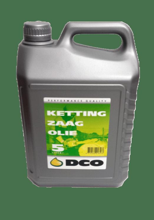 DCO Kettingzaagolie 5L E9000018-5