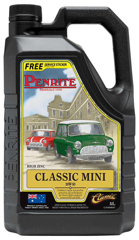 Penrite Classic Mini 20W50 5L CLASMINI005