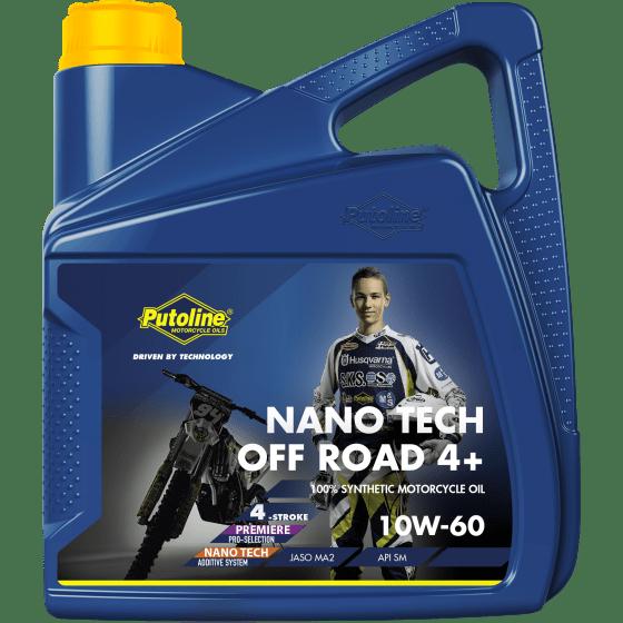 Putoline Off Road Nano Tech 4+ 10W60 4L 74026-4