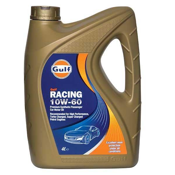 Gulf Racing 10W60 4L 112525