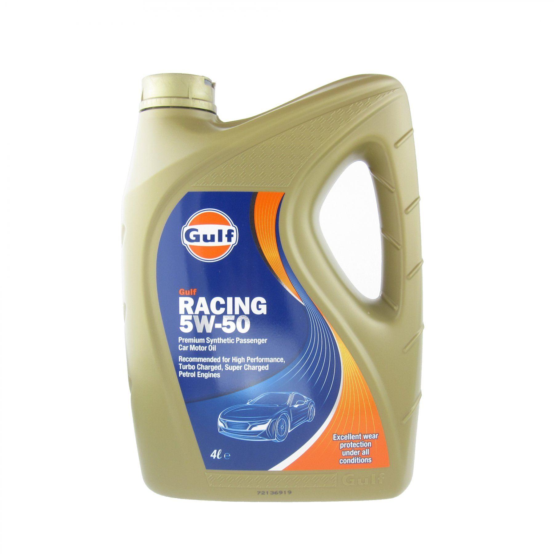 Gulf Racing 5W50 4L 110925