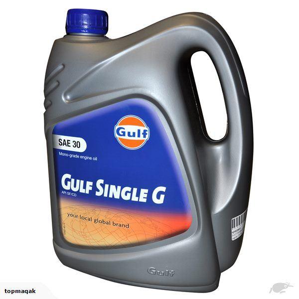 Gulf Single G SAE 30 4L 139325
