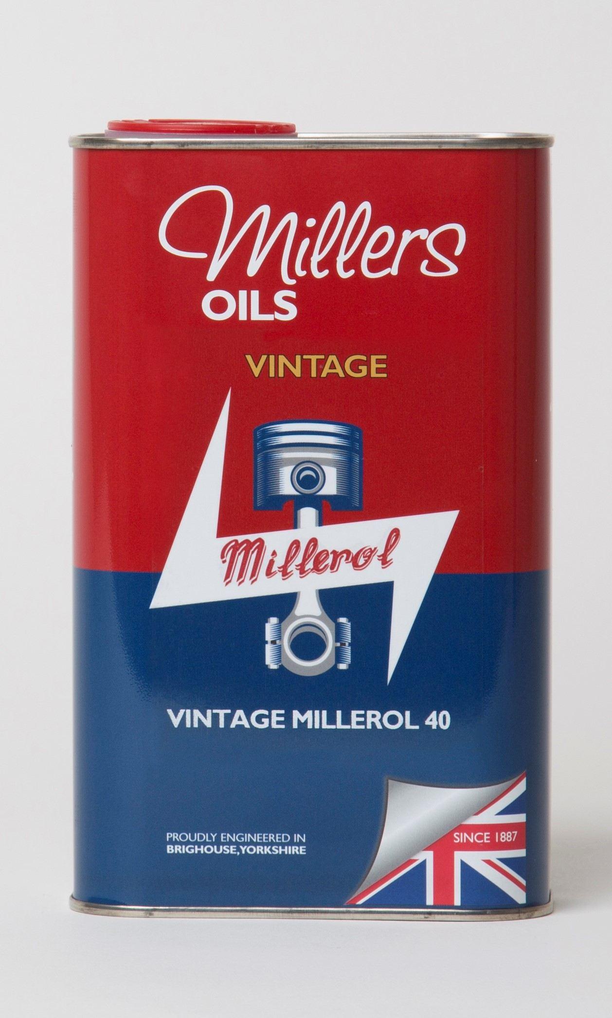 Millers Vintage Millerol 40 1L 7906JCT