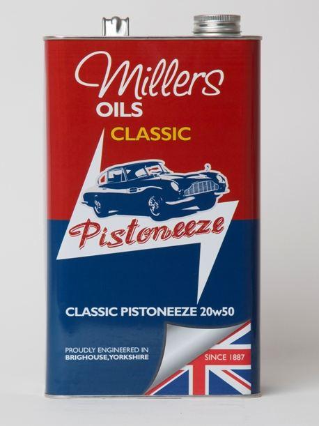 Millers Classic Pistoneeze 20W50 1L 7913JCT