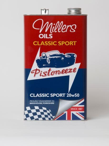 Millers Classic Sport 20W50 1L 7912JCT