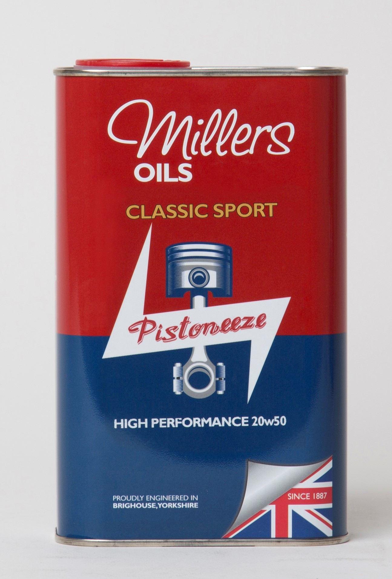 Millers Classic Sport High Performance 20W50 1L 7911JCT