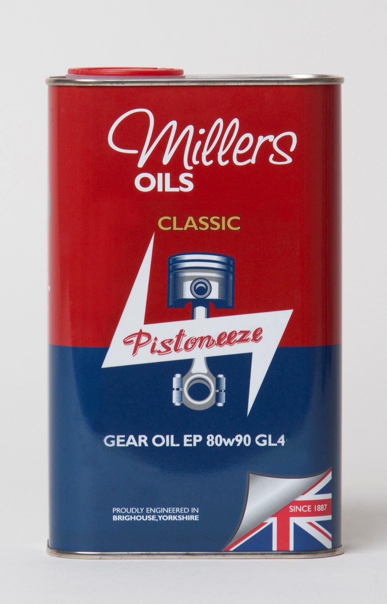 Millers Classic Gear Oil EP 80W90 GL4 1L 7927JCT