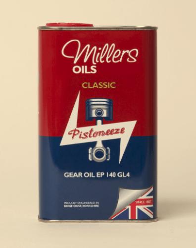 Millers Classic Gear Oil EP 140 GL4 1L 7928JCT