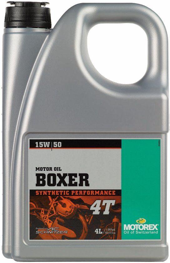 Motorex Boxer 4T 15W50 4L 7510370