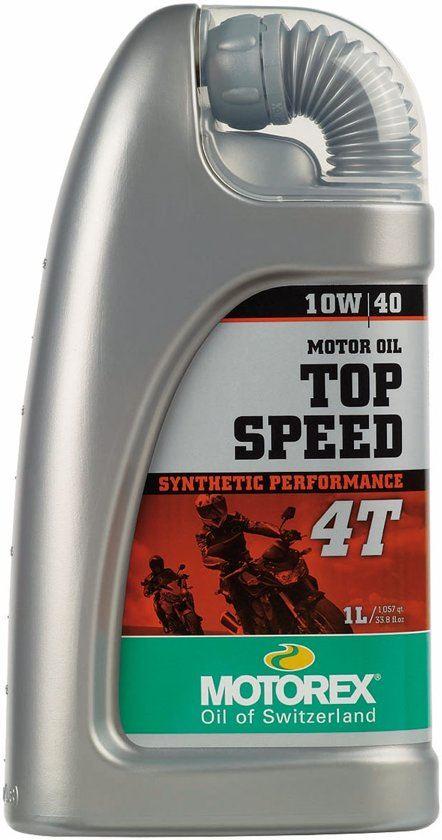 Motorex Top Speed 4T 10W40 1L 7510030-1