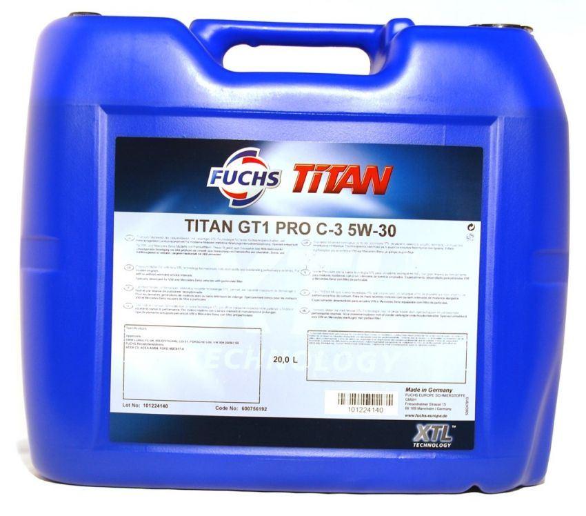 Fuchs Titan GT1 Pro C3 5W-30 20L 600935856