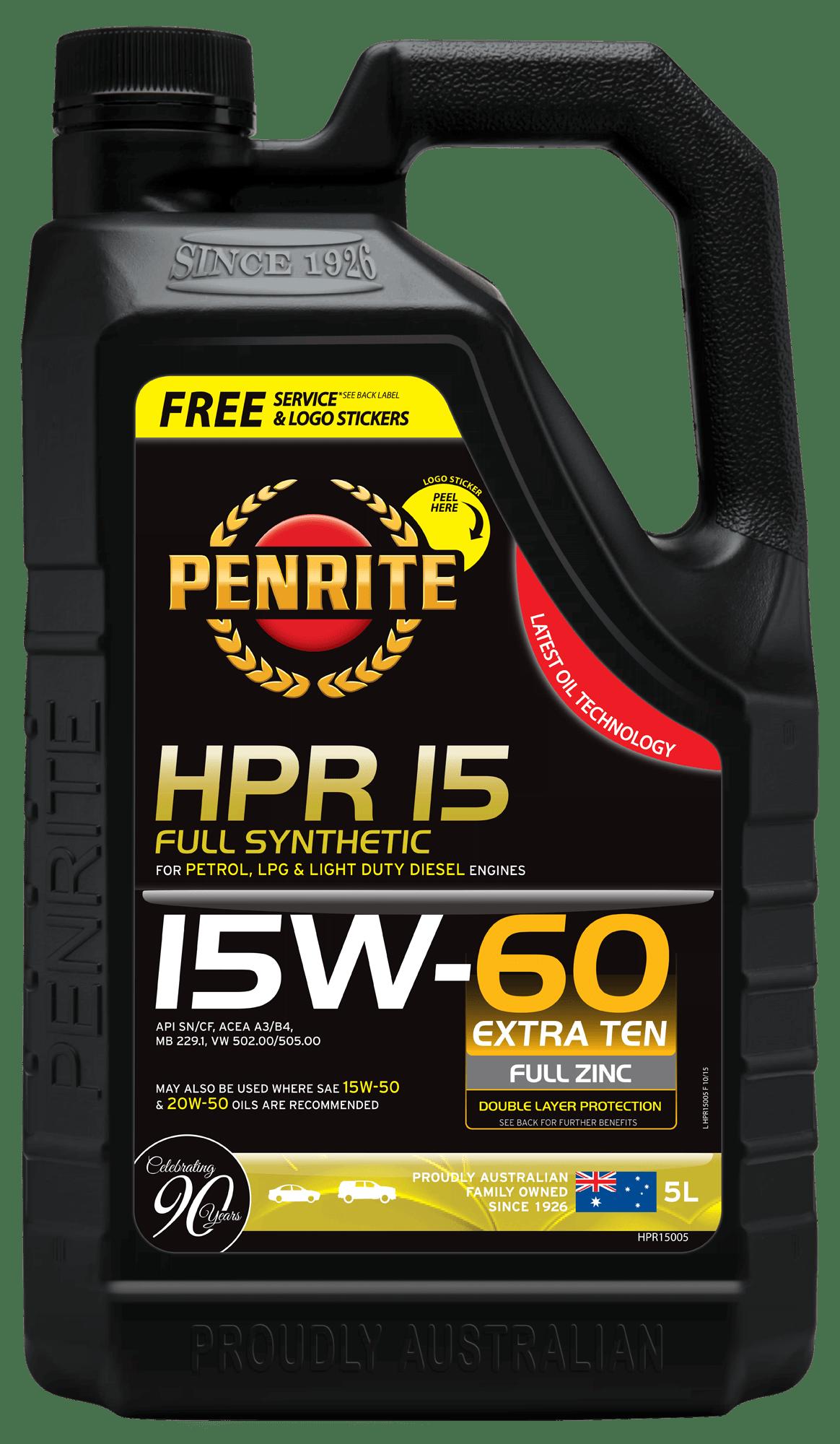 Penrite HPR 15 5L HPR15005