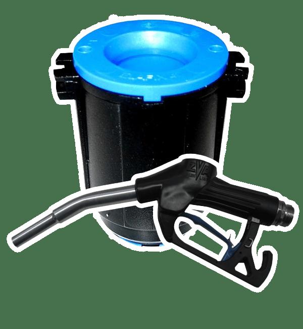 Elaflex Adblue ZVA 4.0F Afgiftepistool + adapter H4685600-set